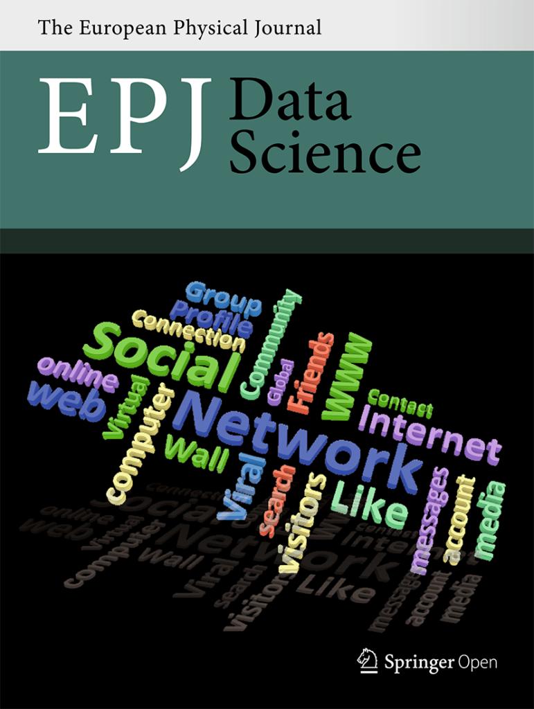 EPJ Data Science Cover